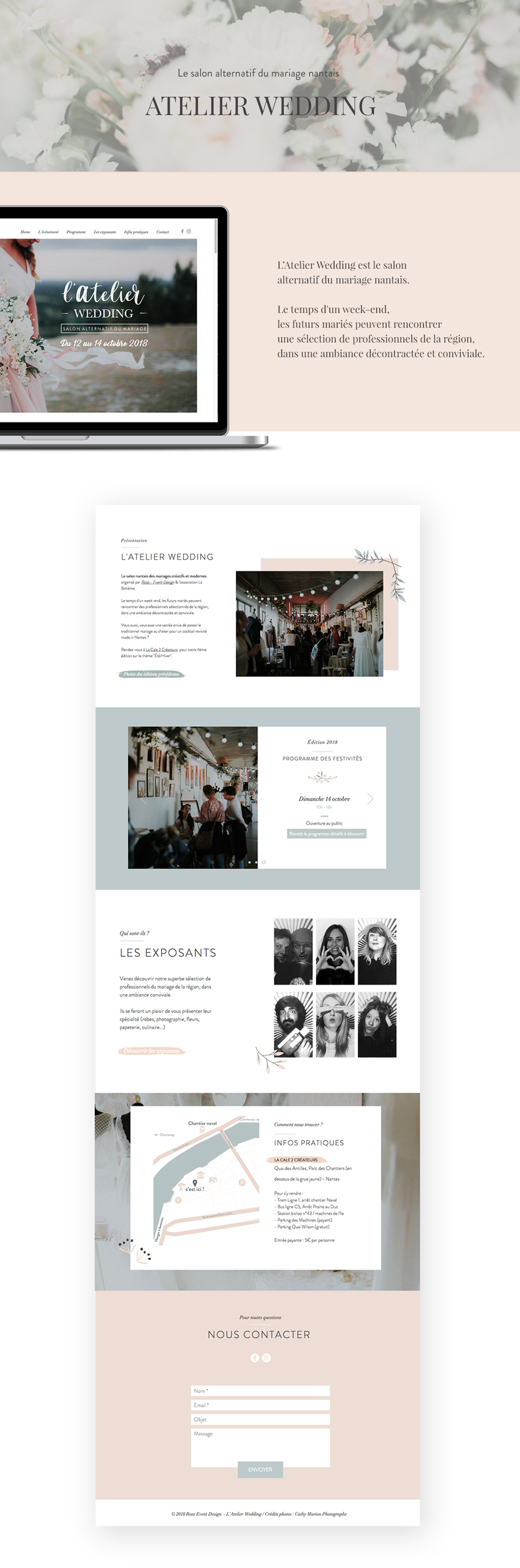 Atelier wedding présentation