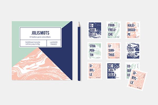 Présentation du carnet de timbre