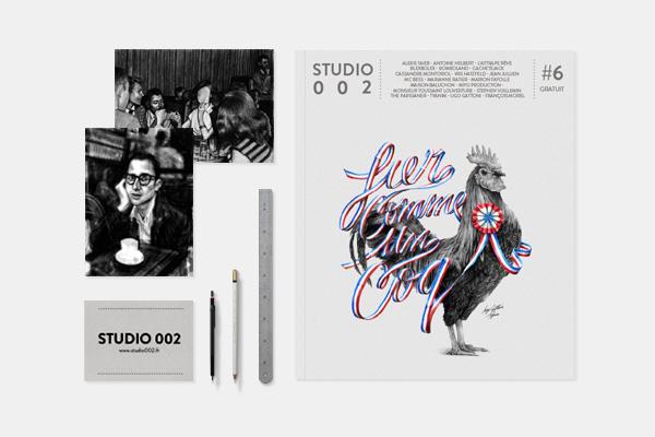 Présentation du magzine Studio002