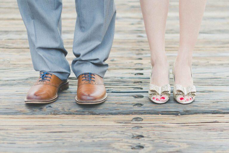 Chaussures des mariés
