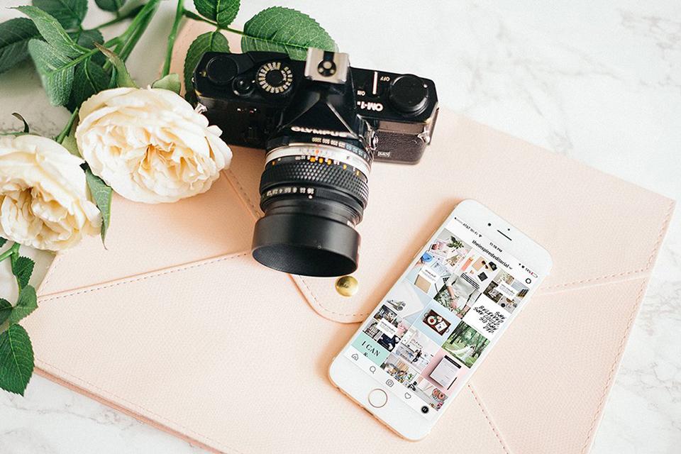 appareil photo et iphone